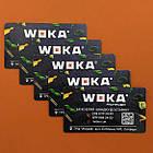 Магнитные визитки, производство магнитов 90х50 мм, фото 10