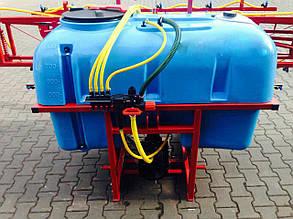 Обприскувач навісний Wirax (Польща 800 л./16м + плаваюче)