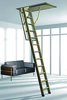Деревянная складная лестница с люком Roto BTR ESCA ISO RC DE 120*70 (120*60)