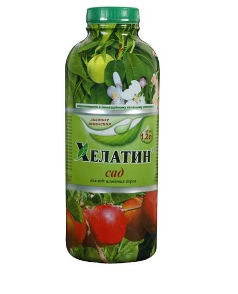 Хелатин Сад - микроудобрение, 1.2 литра