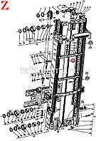 Гидроцилиндр подъема ЦПС2 (80х2250) 2896 00.00.04 143683 Балканкар ДВ1788.45