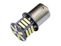 Светодиодная лампа BA15S 1156-7014-21SMD белая 24v