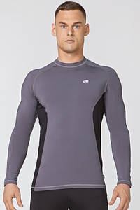 Компрессионная спортивная кофта Rough Radical Fury Duo LS (original), мужской рашгард, футболка с длинным рукавом