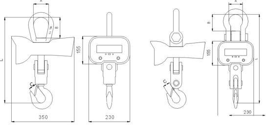 Цена весы крановые зевс. Стоимость весы крановые ВК ЗЕВС III-5000-РПУ