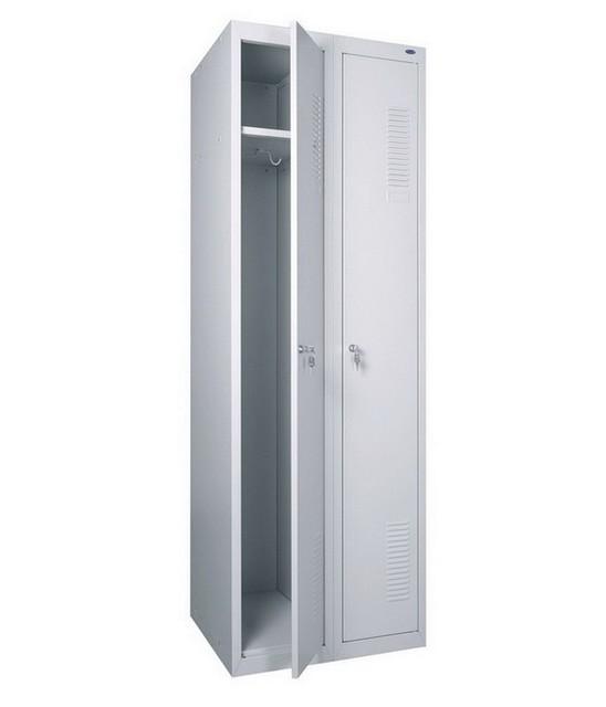 Шкаф для раздевалки металлический двойной ( 600 х 500 х 1800h)