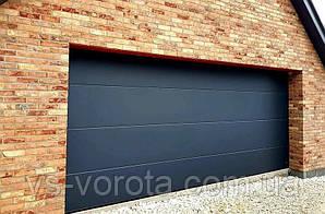 Ворота подъемные Doorhan RSD 01 размер 2600х2200 мм - гаражные секционные Чехия