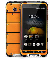 Смартфон Ulefone armor оранжевый цвет IP68 (экран 4.7 дюймов, памяти 3/32, акб 3500 мАч)