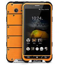 Смартфон Ulefone armor помаранчевий колір IP68 (екран 4.7 дюймів, пам'яті 3/32, акб 3500 мАч)