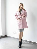Короткое пальто полуприталеного кроя Размеры M (44-46), L (46-48), XL (50-52), XXL (54-56)