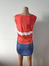 Платье женское летнее, туника модная хлопок FOGLE, фото 2