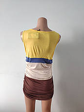Платье женское летнее, туника модная хлопок FOGLE, фото 3