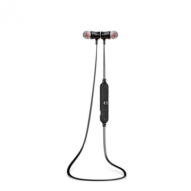 Беспроводные Bluetooth наушники гарнитура Awei A921BL Black