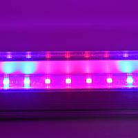 Светодиодный светильник T8-2835-0.6FS  R:B=4:2 8W ( 4 красных 2 синих ФИТО свет ), фото 1