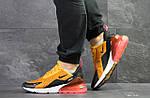 Мужские кроссовки Nike Air Max 270 (Желтые), фото 6