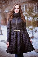 Пальто из стеганой плащевки