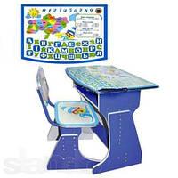 Детская растущая парта со стульчиком Bambi HB 2029UK-01 укр.язык