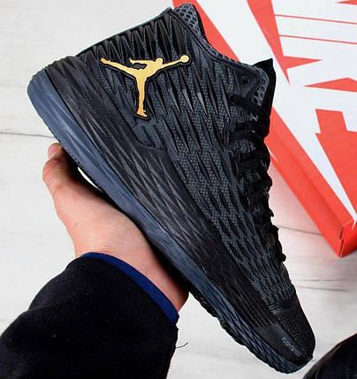 Баскетбольные кроссовки Nike Air Jordan Melo M13 Black/Metallic Gold-Anthracite, фото 2