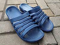 Тапочки летние мужские синие оптом Прогрес, фото 1