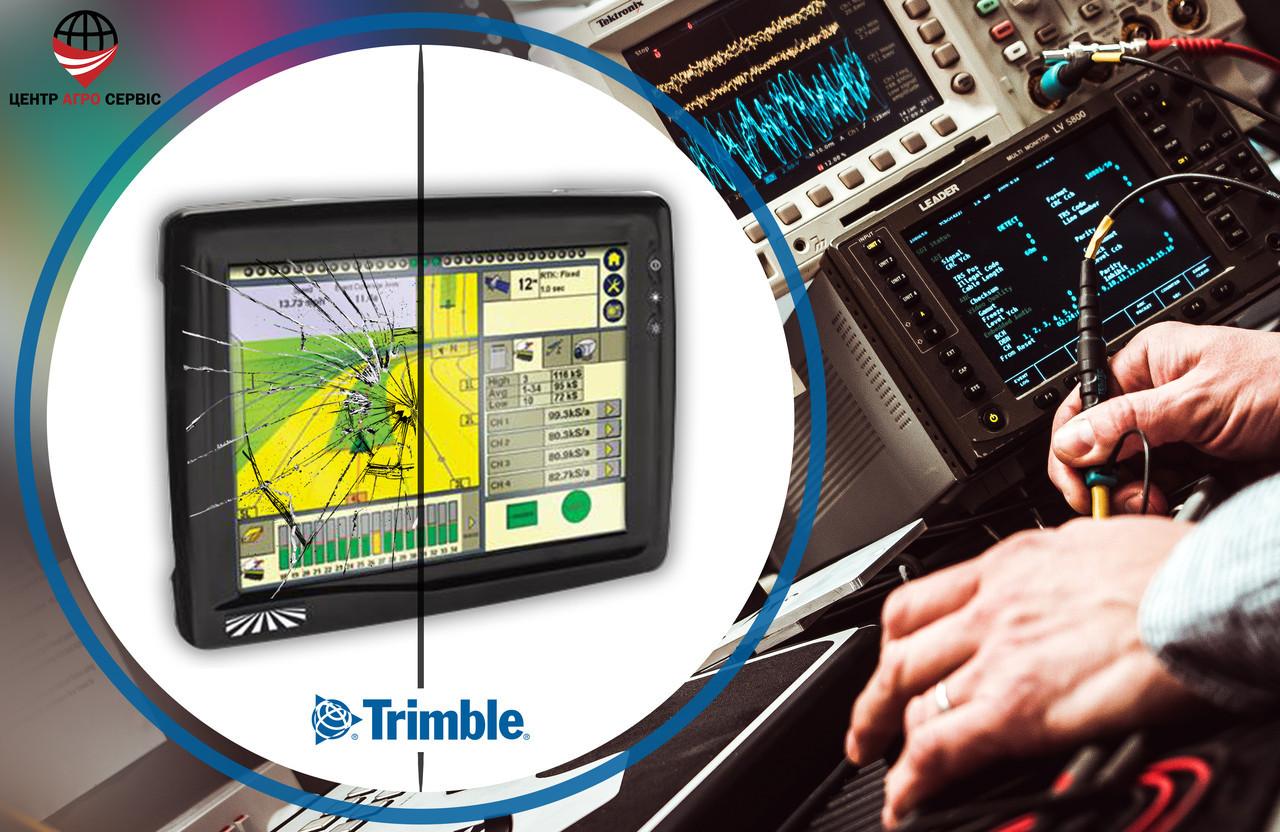 Диагностика, ремонт, прошивка курсоуказателя (агронавигатора) Trimble  FM 1000