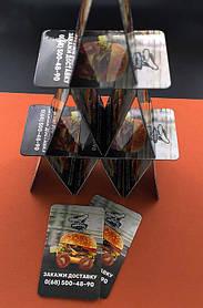 Рекламные магниты для службы доставки еды. Размер 70х45 мм 8