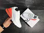 Мужские кроссовки Nike Air Max 270 (Бело-оранжевые), фото 4