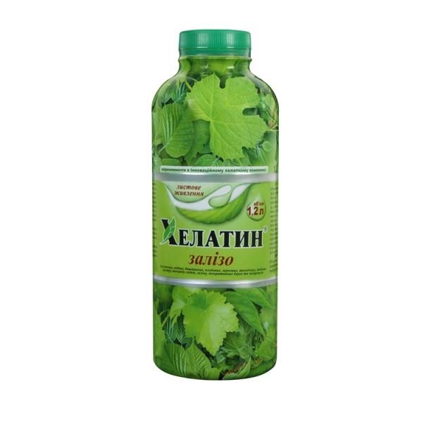 Хелатин Железо - микроудобрение, 1.2 литра