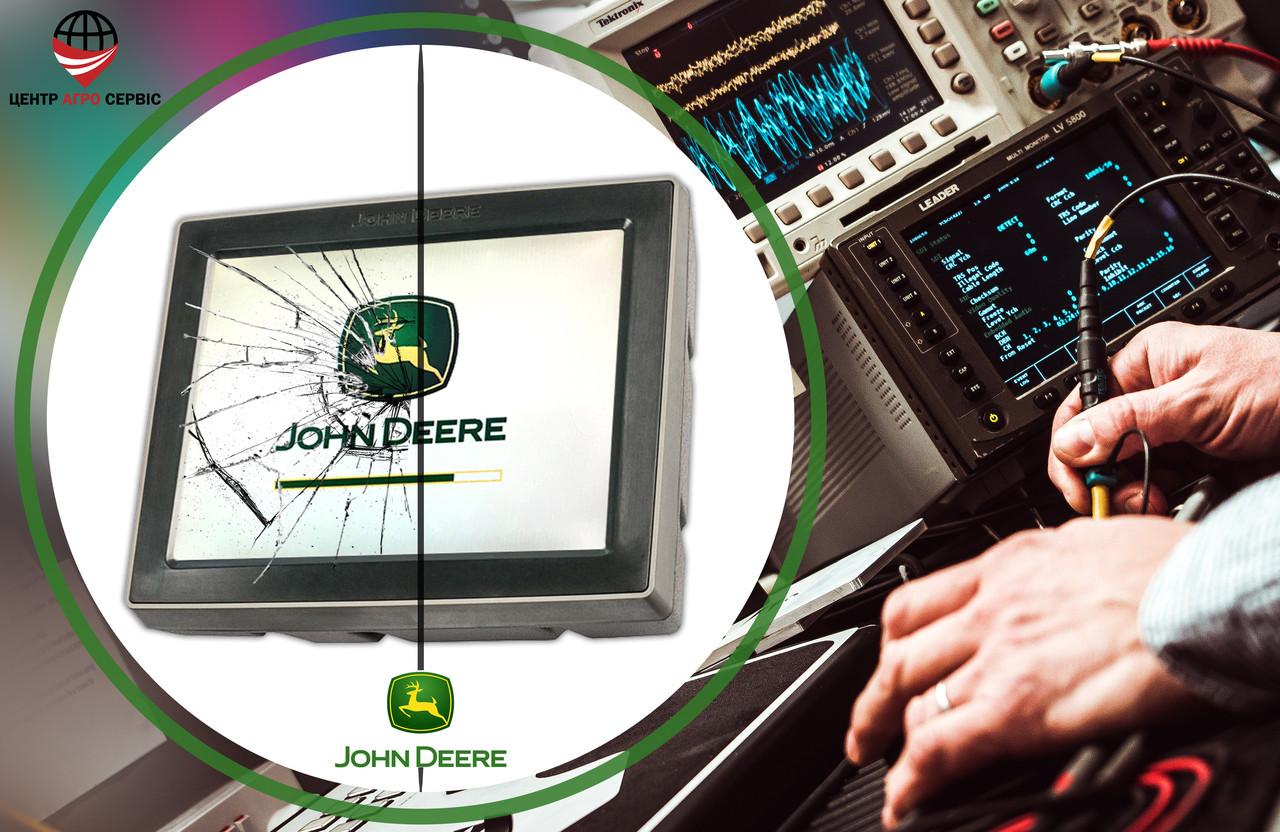 Ремонт,диагностика системы параллельного вождения (gps навигатора для трактора)  Джон дир 4240