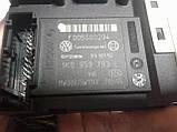 Моторчик стеклоподъемника переднего левого Volkswagen Passat B6 2005-2010г.в., фото 2