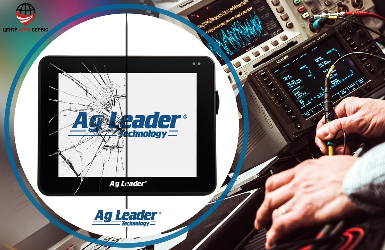 Ремонт,диагностика системы параллельного вождения (gps навигатора для трактора)  Аг Лидер 800