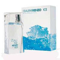 Мужская туалетная вода Kenzo L' Eau Par Ice 100ml edt (мужественный, уверенный, энергичный, свежий)