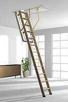 Деревянная складная лестница на чердак Roto BTR NORM 8/3 ISO RC DE 120*70 (120*60)