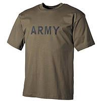 Футболка MFH Army, оливковый, 00253B