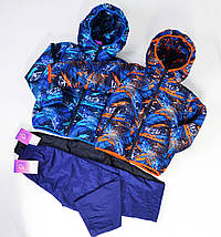 Курточка для хлопчика демісезонна зростання 98-104-110-116см, фото 3