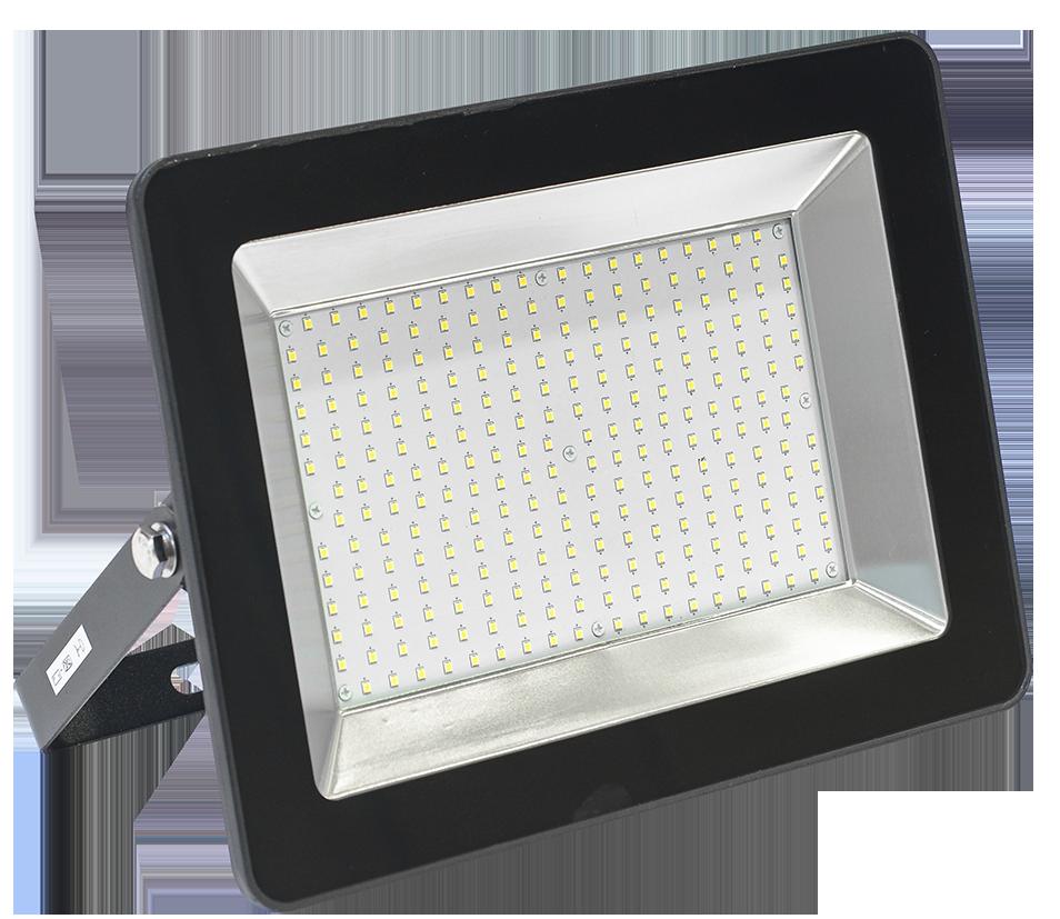 Прожектор СДО 06-200 светодиодный черный IP65 6500 K IEK (LPDO601-200-65-K02)