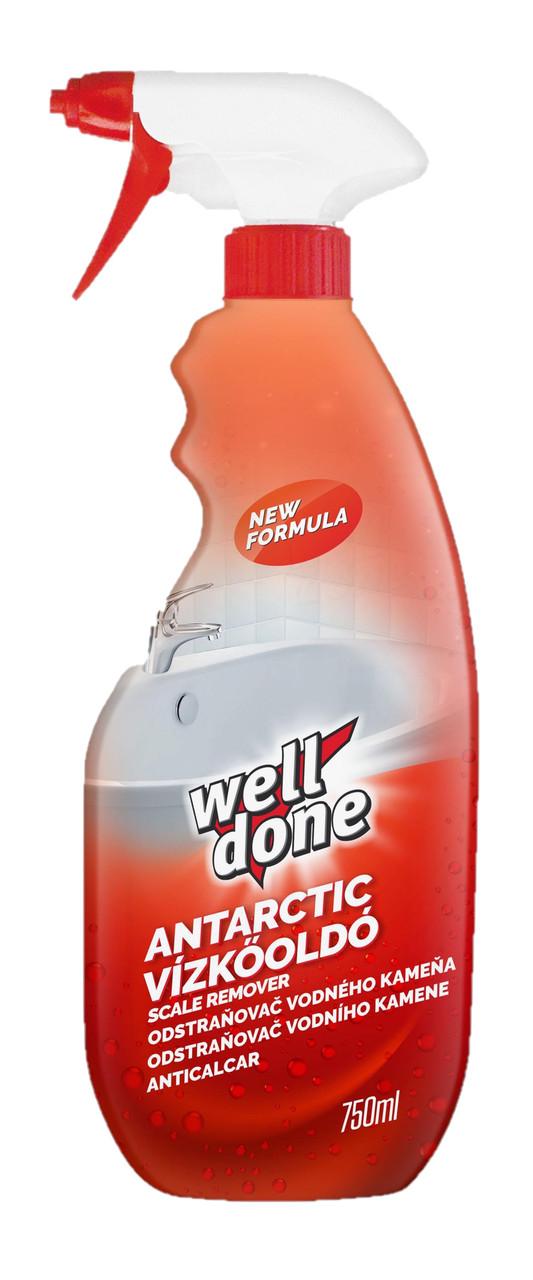 Засіб для видалення нальоту у ванній кімнаті Well Done Antarctic 750 мл