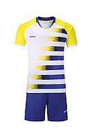 Футбольная форма Europaw 021 сине-желтая