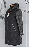 Демисезонное женское пальто большие размеры 2XL - 5XL, фото 1