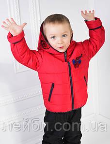 """Курточка для мальчика демисезонная """"Спайдермен"""" рост 98-104см"""