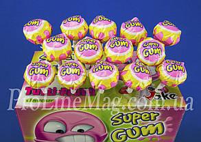 Леденец - жевательная резинка Jake Tutti-Frutti Super Gum