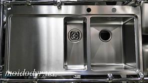 Мойка кухонная из нержавеющей стали Longran Techno TEP1000.510 15 врезная