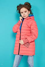 Детская осенняя куртка с капюшоном на девочку Трикси  NUI VERY (нью вери), фото 3