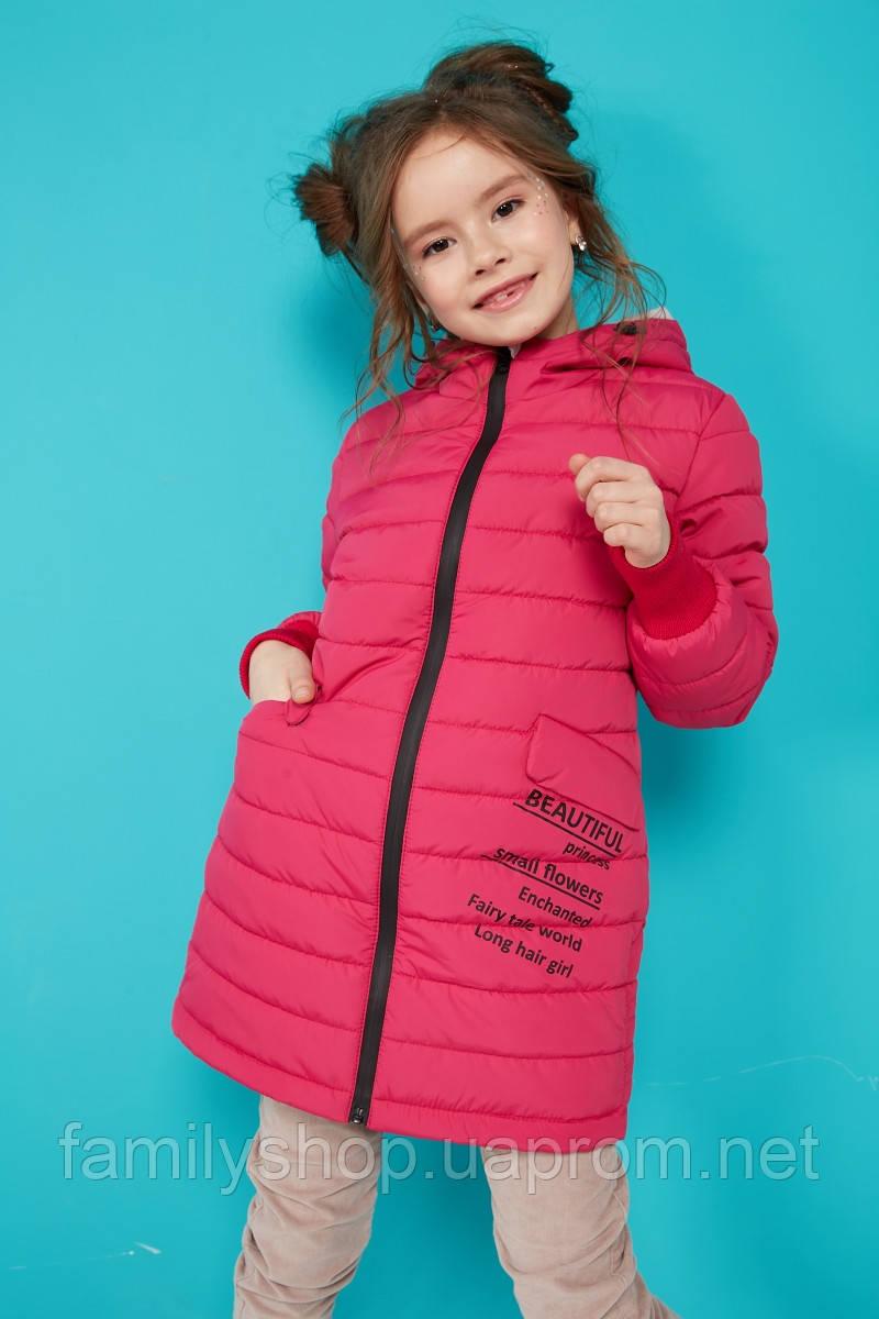 Детская осенняя куртка с капюшоном на девочку Трикси  NUI VERY (нью вери)