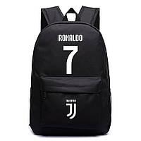 Рюкзак футбольный клуб Juventus Ronaldo 7 черный, фото 1