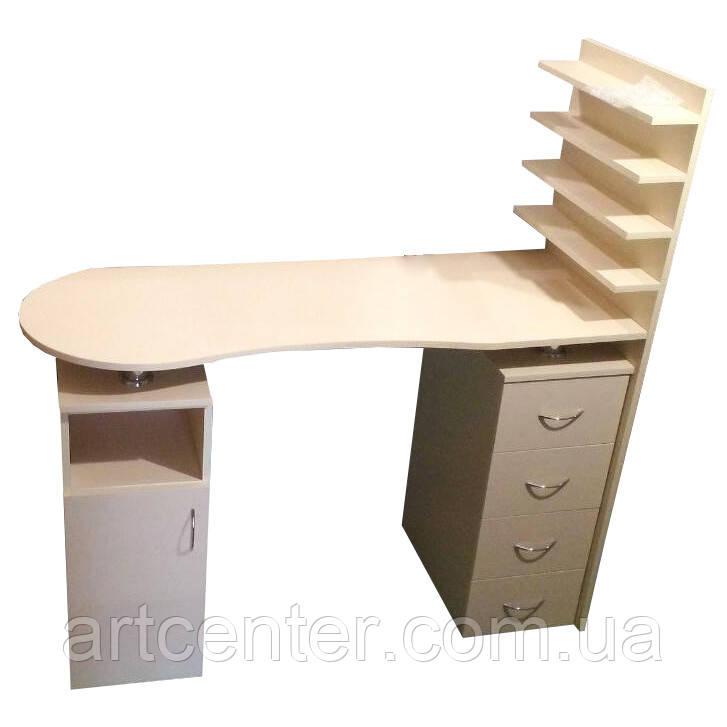Манікюрний стіл професійний, стіл для манікюру