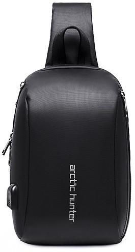 Стильный однолямочный рюкзак Arctic Hunter XB00081, влагозащищённый, 5л