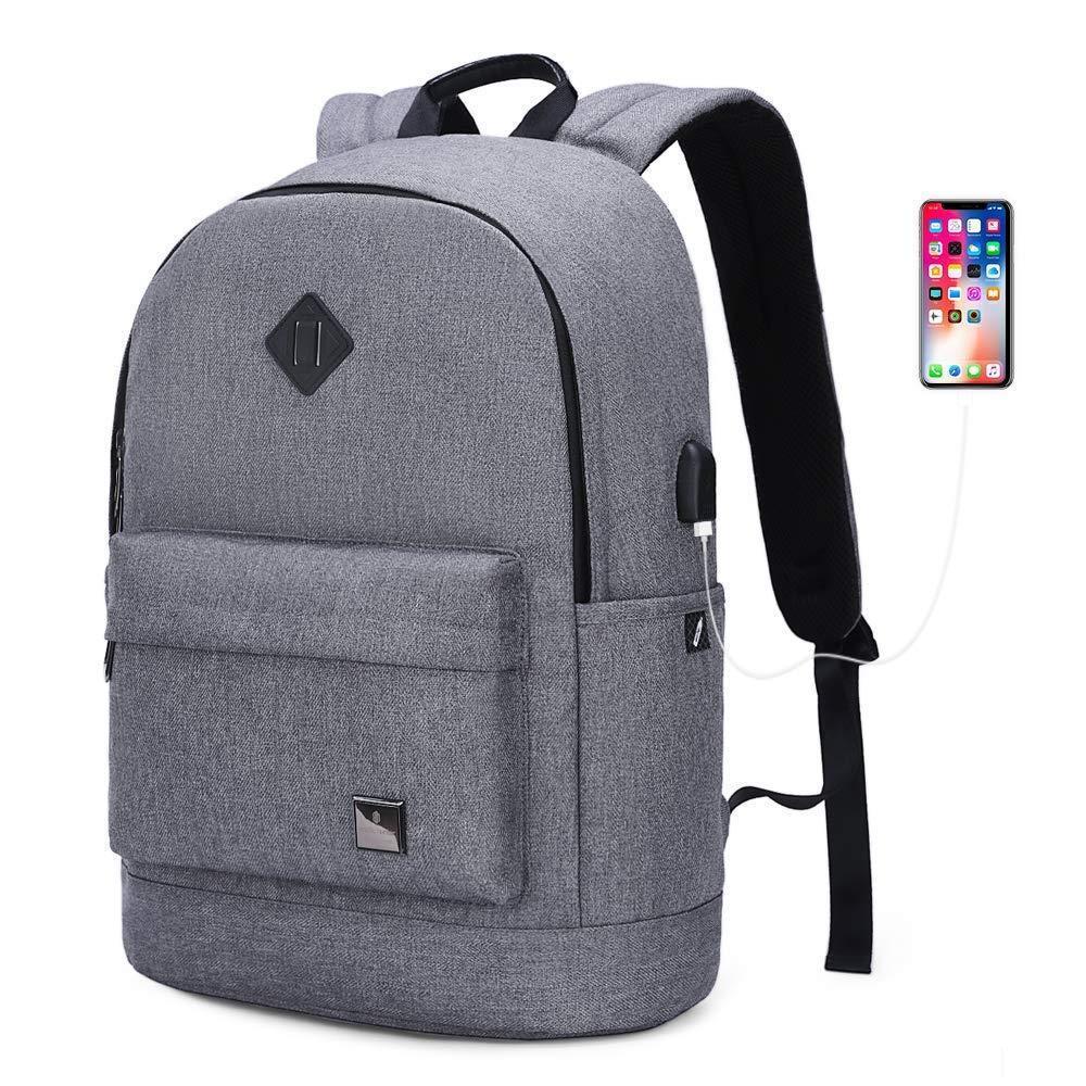"""Городской тканевый рюкзак Arctic Hunter B00290 для ноутбука до 15,6"""", влагозащищённый, 20л"""