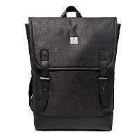 Современный модный рюкзак-мешок Arctic Hunter B00288, 18л Черный/звезды