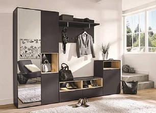 """Меблі в коридор """"Арте"""" від VMV Holding (графіт)"""