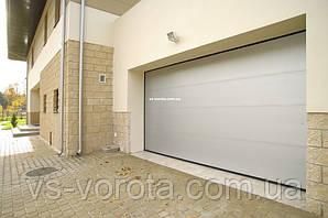 Ворота TREND размер 3700х2200 мм - ALUTECH Белоруссия, гаражные секционные