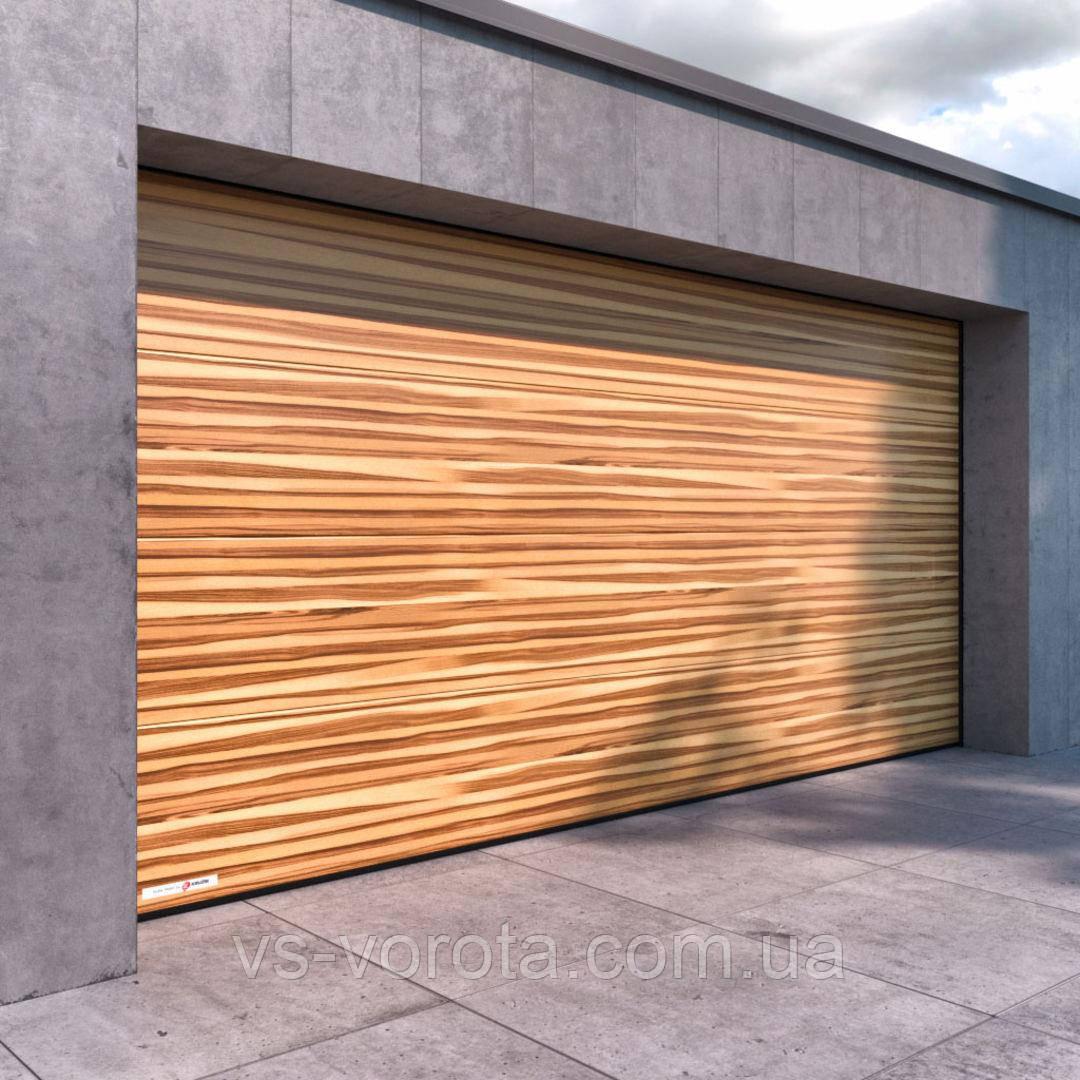 Ворота CLASSIC размер 4000х2200 мм - ALUTECH Белоруссия, гаражные секционные
